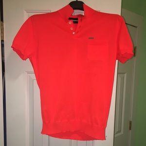 Dsquared2 men's polo . Size S . Orange color